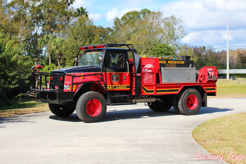 East Lake Fire Rescue Brush 58