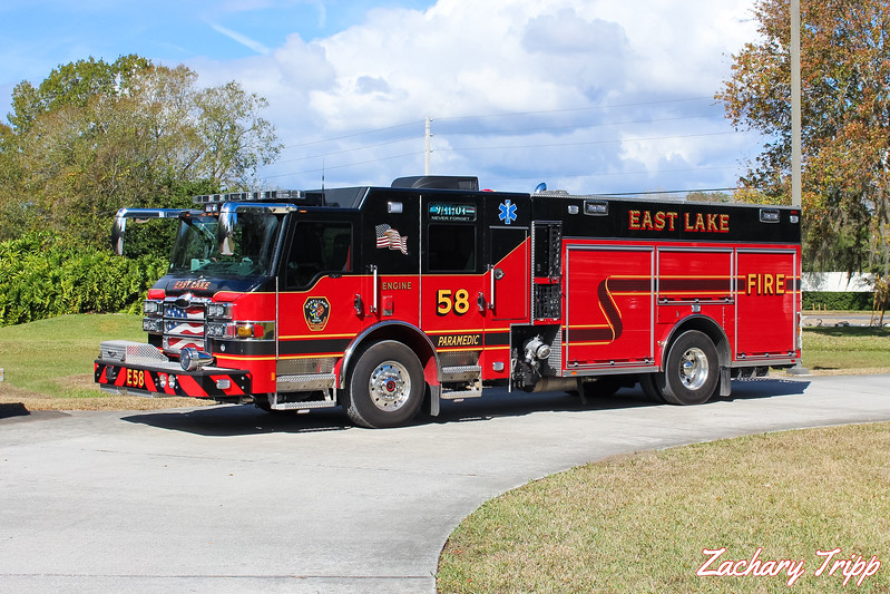 East Lake Fire Rescue Engine 58