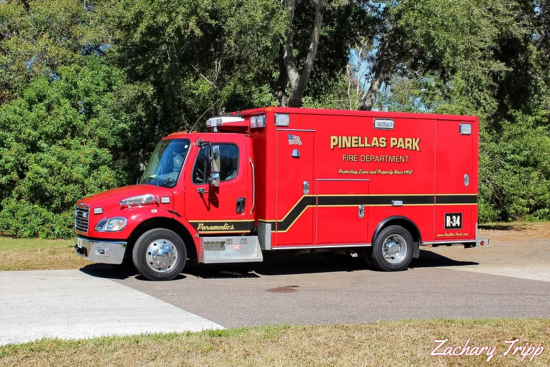 Pinellas Park Fire Department Rescue 34
