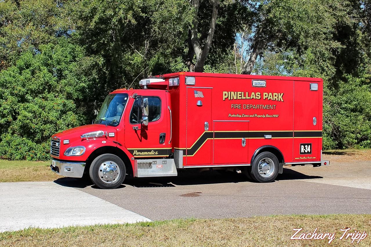 Pinellas Park Fire Department Rescue 34