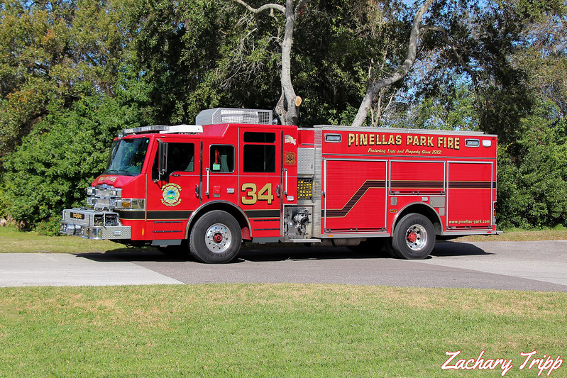Pinellas Park Fire Department Engine 34