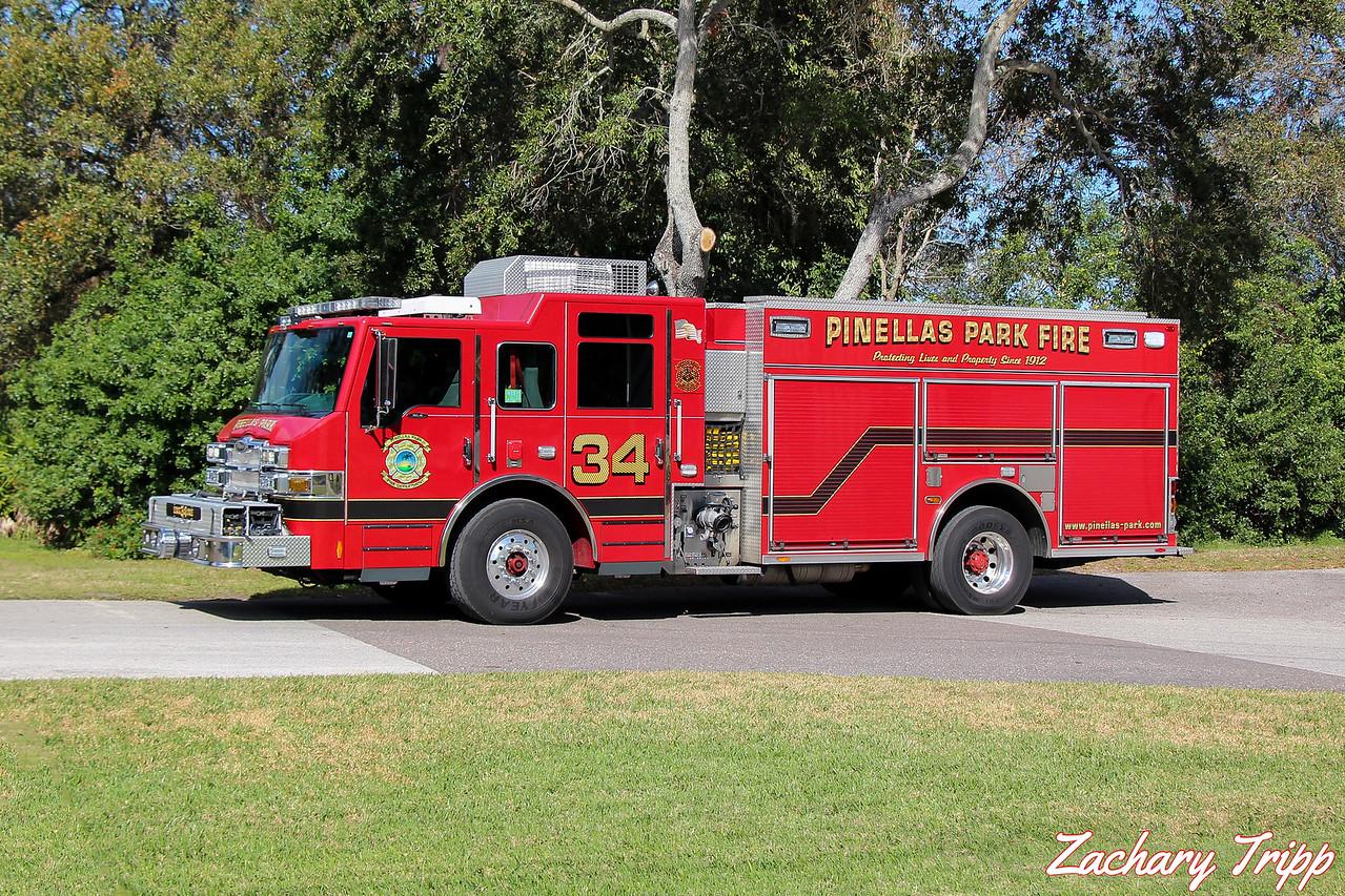 Pinellas Park Fire Department Engine 34