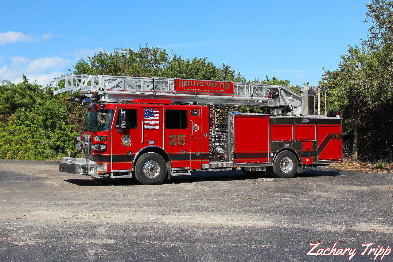 Pinellas Park Fire Department Truck 35