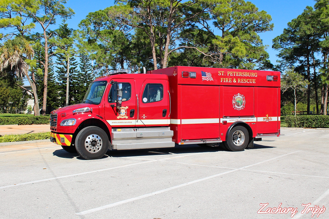 St. Petersburg Fire Rescue Squad 1