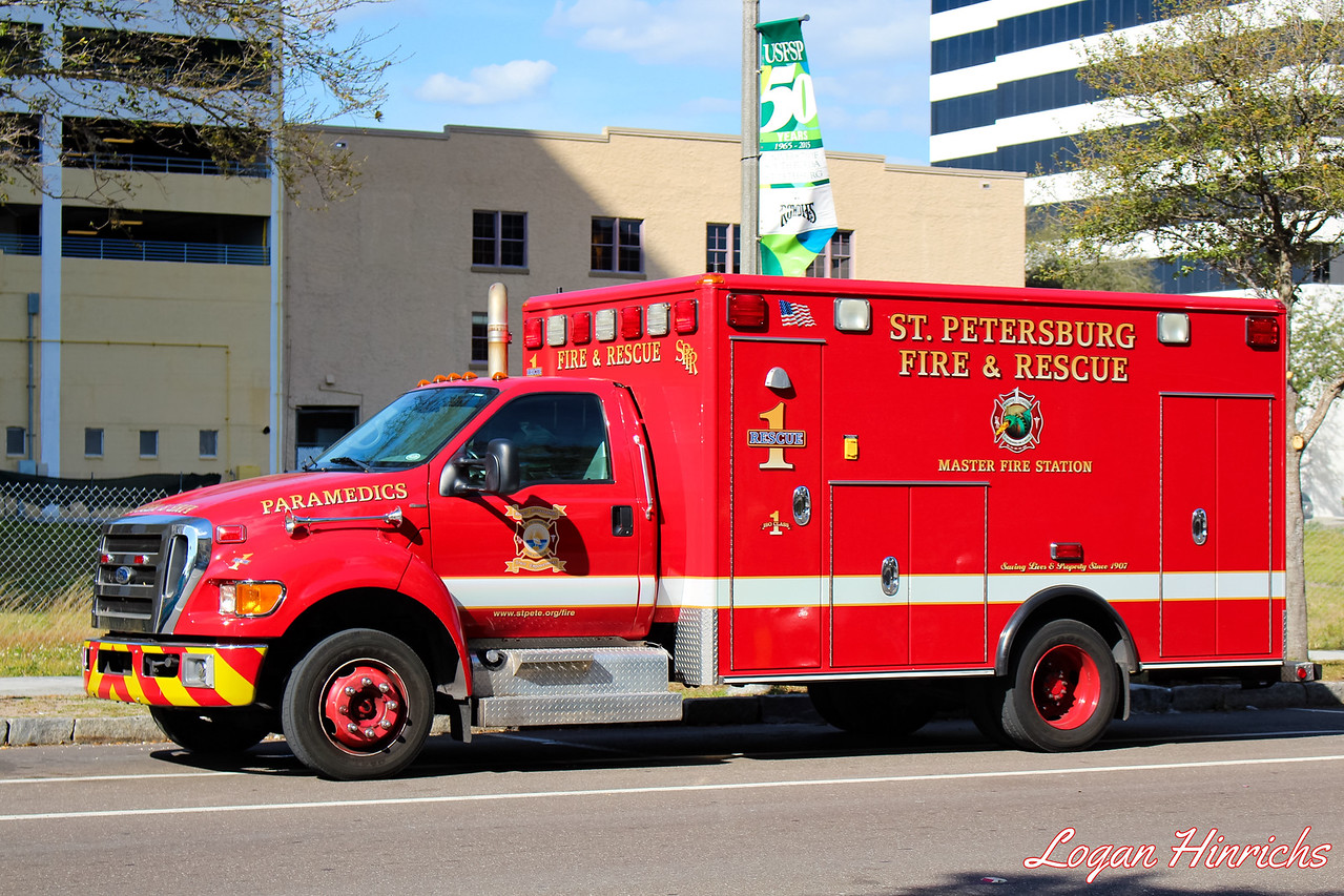 St Petersburg Fire Rescue Rescue 1