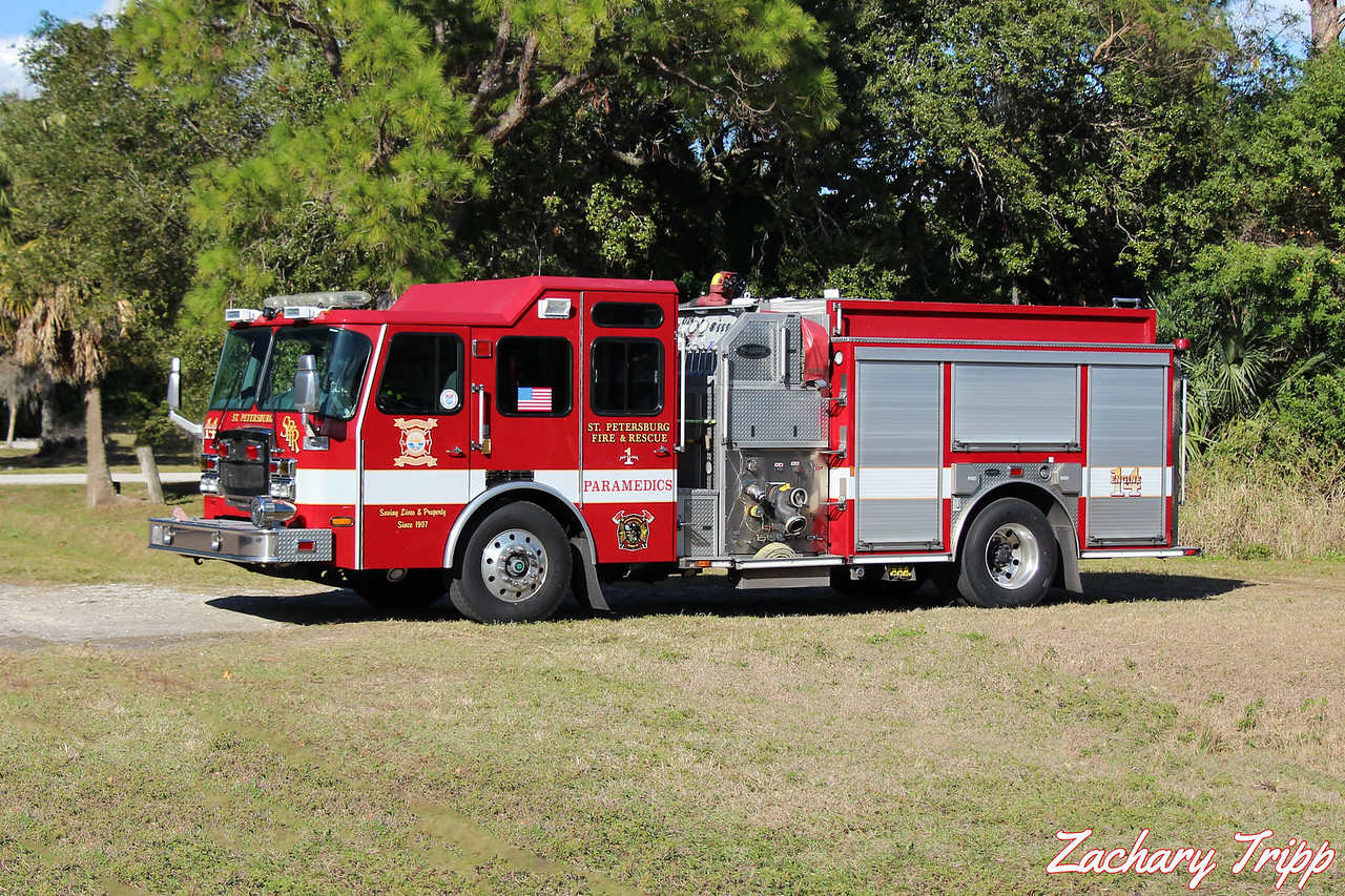 St. Petersburg Fire Rescue Engine 14
