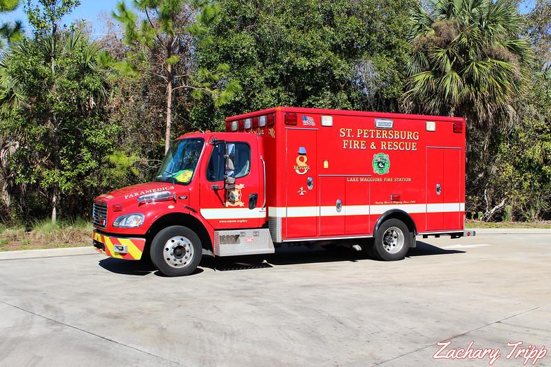 St. Petersburg Fire Rescue Rescue 8