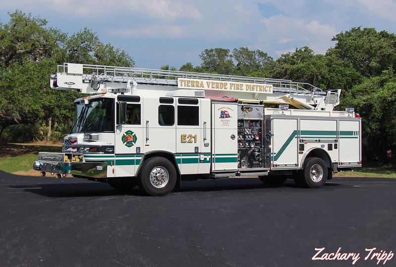 Tierra Verde Fire District Engine 21