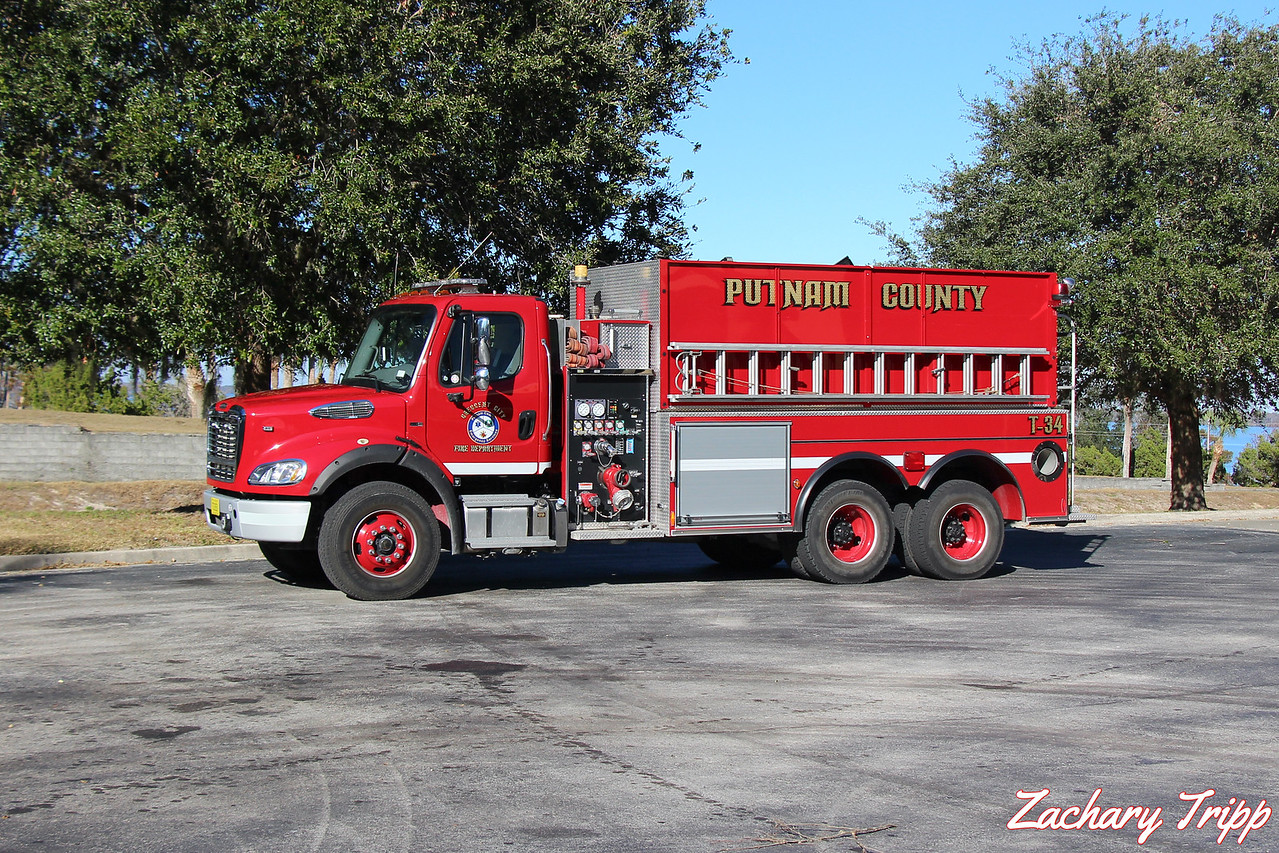 Crescent City Fire Department Tanker 34