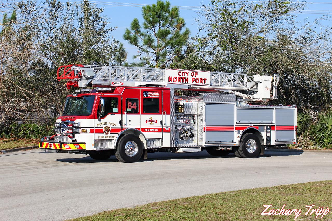 North Port Fire Rescue Truck 84
