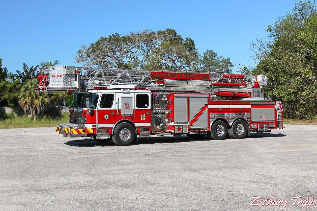 Sarasota County Fire Department Truck 11