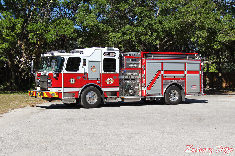 Sarasota County Fire Department Engine 13