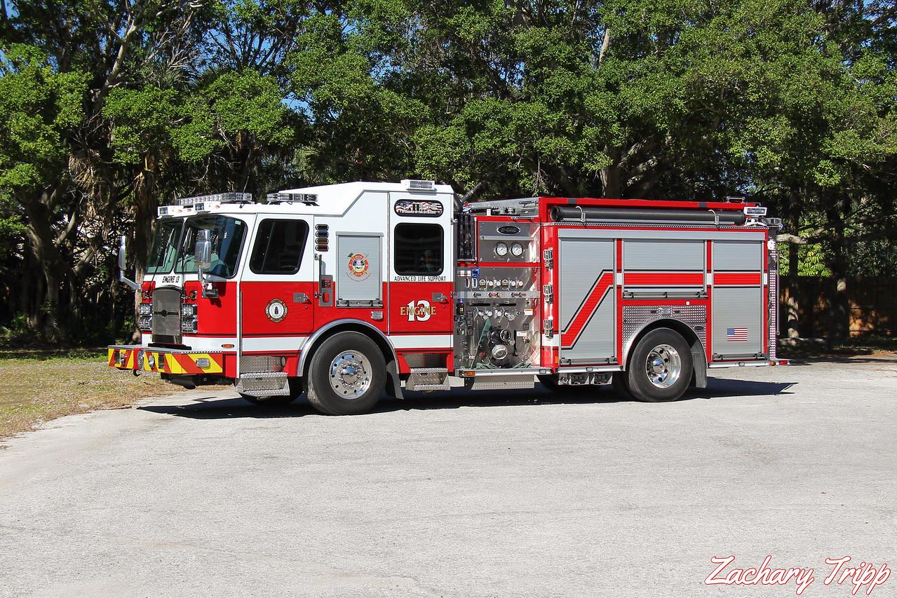 Sarasota County Fire Department Engine 13