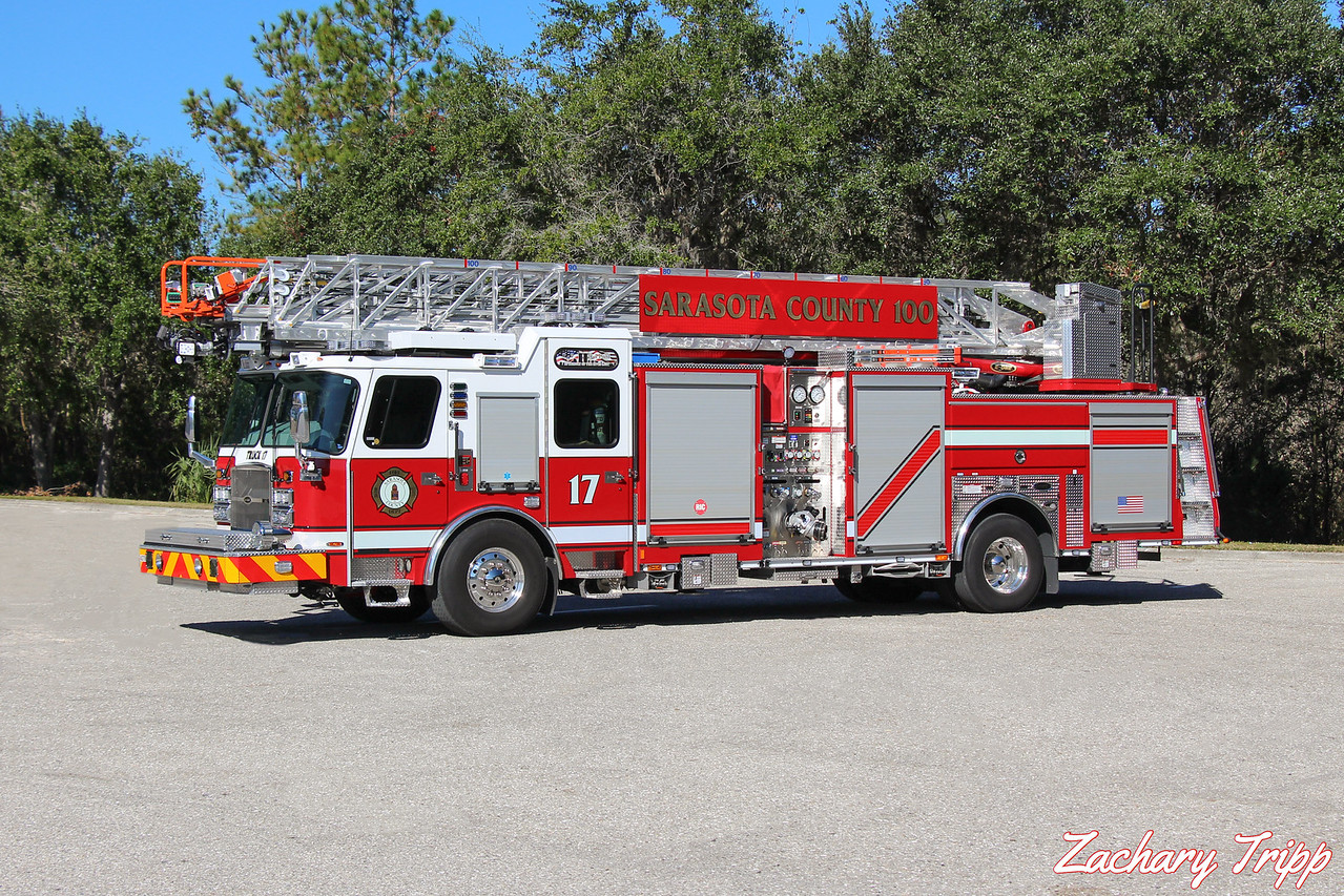 Sarasota County Fire Department Truck 17