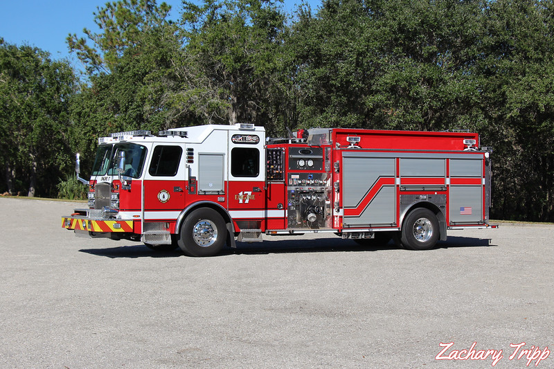 Sarasota County Fire Department Engine 17