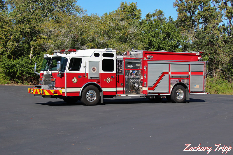Sarasota County Fire Department Engine 8