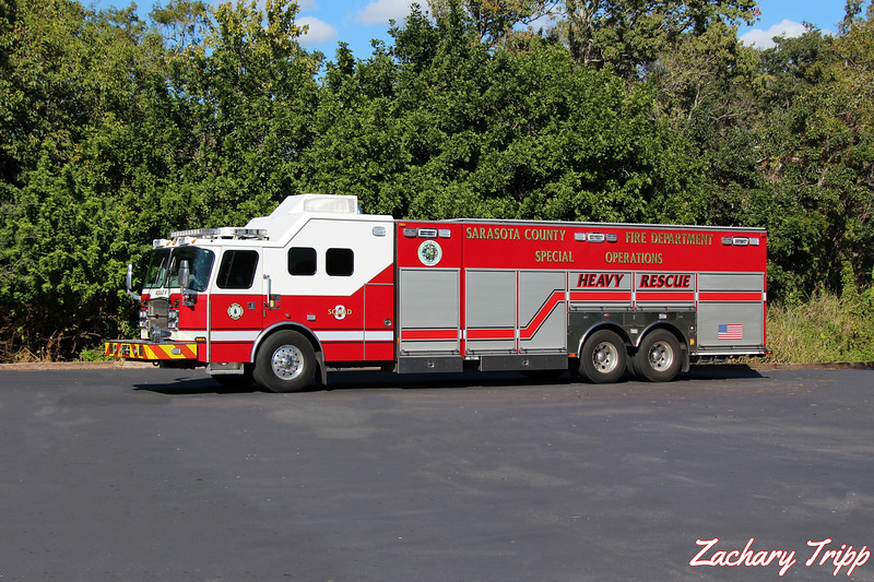 Sarasota County Fire Department Squad 8