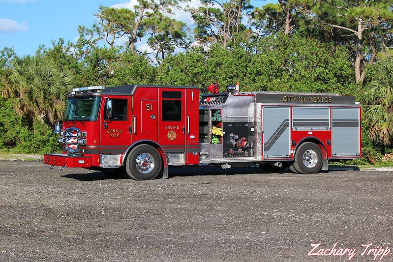 Venice Fire Department Engine 51