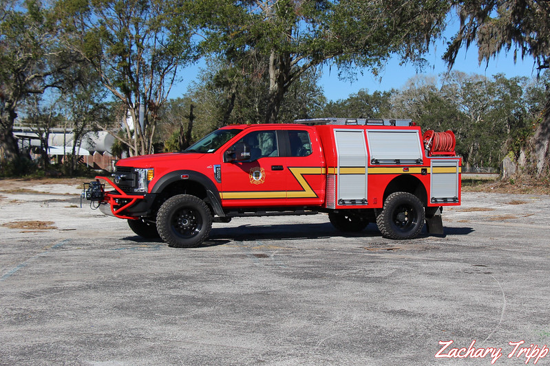 St. Augustine Fire Department Brush 48