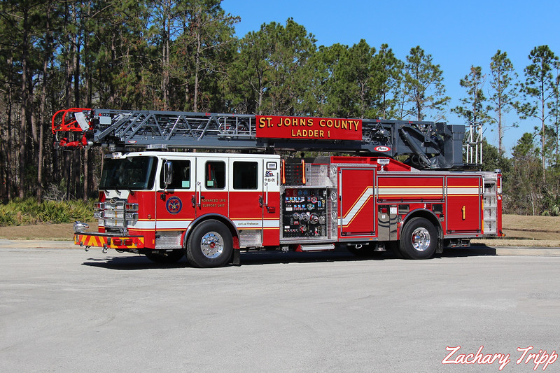 St. Johns County Fire Rescue Ladder 1