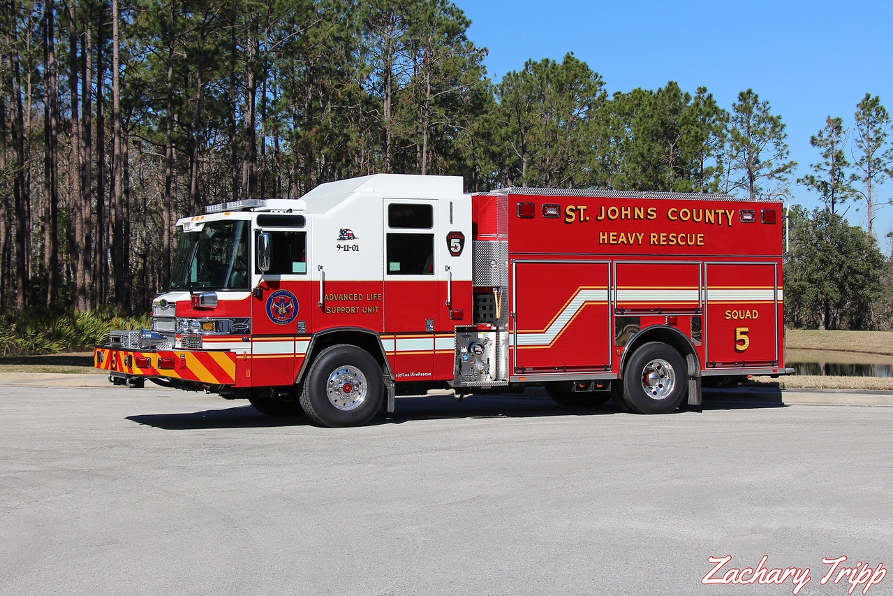 St. Johns County Fire Rescue Squad 5