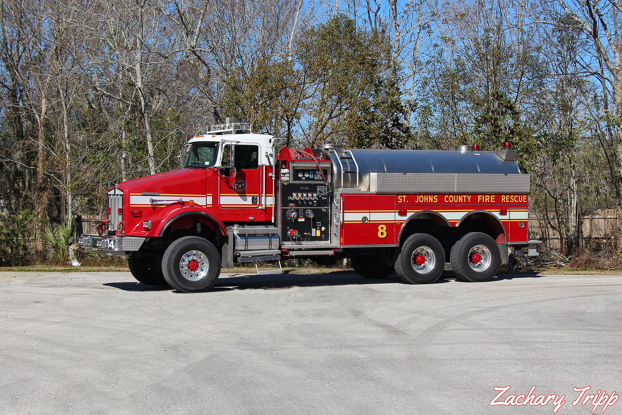 St. Johns County Fire Rescue Tender 8 (Ex Tender 14)