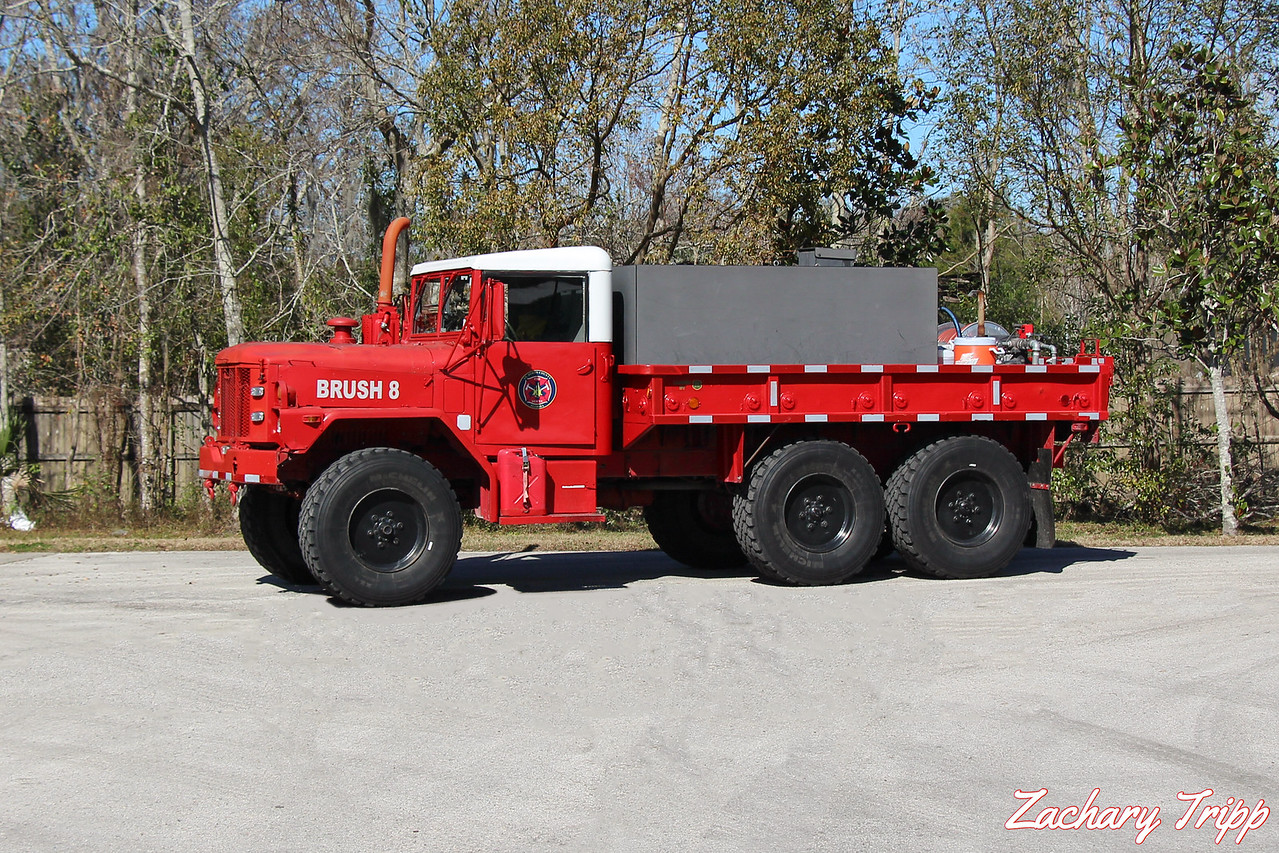 St. Johns County Fire Rescue Brush 8 (Retired)