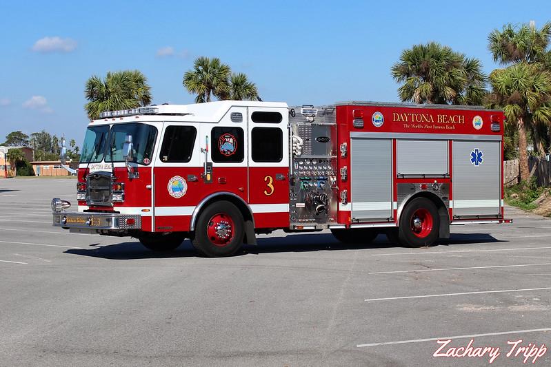 Daytona Beach Fire Department Engine 3