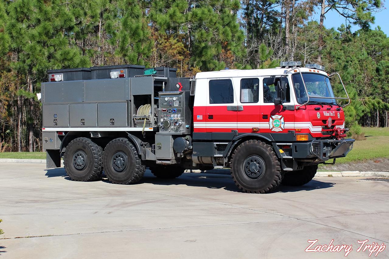 Port Orange Fire Rescue Brush Attack 75