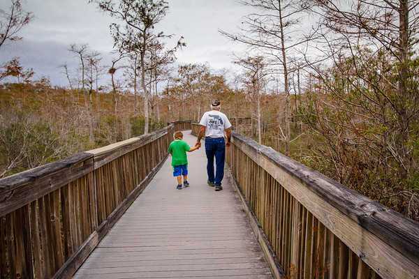 A  Walk on the Boardwalk - Kirby S. Storter Park