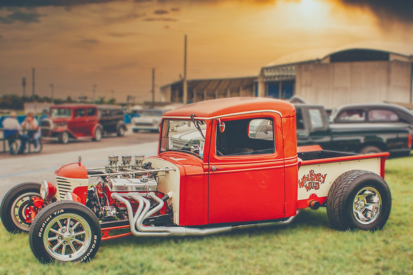 Hot Rod and Whiskey Wild