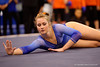 Florida Gators gymnast Claire Boyce performs her routine during the floor exercise.  Florida Gators Gymnastics vs Georgia Bulldogs.  January 30th, 2015. Gator Country photo by David Bowie.