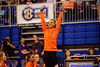 Florida Gators gymnast is the winner of the all-around, with a score of 39.675.  Florida Gators Gymnastics vs Georgia Bulldogs.  January 30th, 2015. Gator Country photo by David Bowie.
