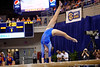 Florida Gators gymnast Claire Boyce performs on the balance beam.  Florida Gators Gymnastics vs Georgia Bulldogs.  January 30th, 2015. Gator Country photo by David Bowie.