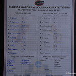 The Florida Gators and LSU Tigers prepare for game one of the College World Series on Monday night.