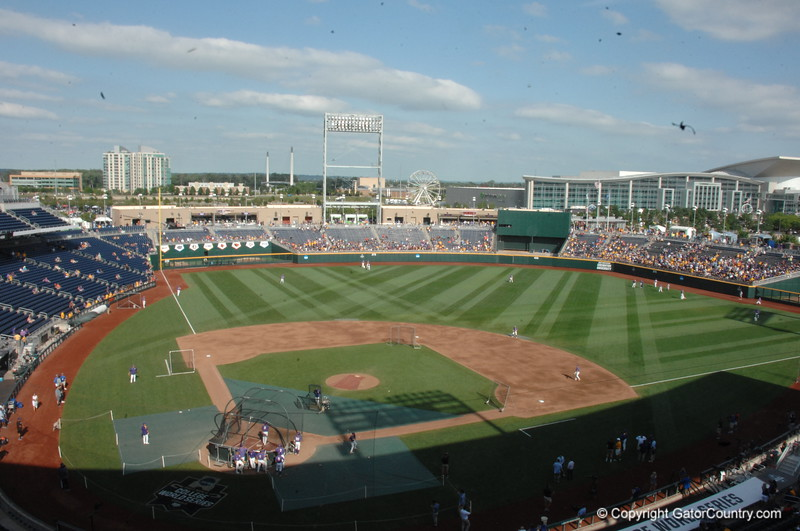 2017 CWS Finals Game 2: Florida Gators vs LSU Tigers