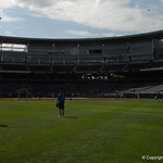 The Florida Gators prepare for game 2 of the CWS finals against the LSU Tigers on Tuesday. GatorCountry photo taken by Nick de la Torre.