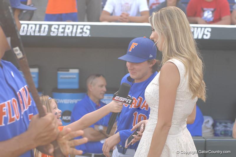 Payton O'Sullivan interviewing Laura Rutledge.