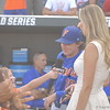 Payton O'Sullivan interviewing Laura Rutledge.