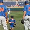 Alex Faedo and Cole Maye hanging out with Finn O'Sullivan.