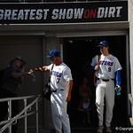 Florida Gators coach Kevin O'Sullivan enters the stadium for the opening game against TCU in the 2017 College World Series. June 18th, 2017. GatorCountry photo taken by Nick de la Torre.