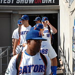 The Florida Gators baseball team enters the stadium for the opening game against TCU in the 2017 College World Series. June 18th, 2017. GatorCountry photo taken by Nick de la Torre.