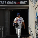 Florida Gators third baseman Jonathan India prepares for the opening game against TCU in the 2017 College World Series. June 18th, 2017. GatorCountry photo taken by Nick de la Torre.
