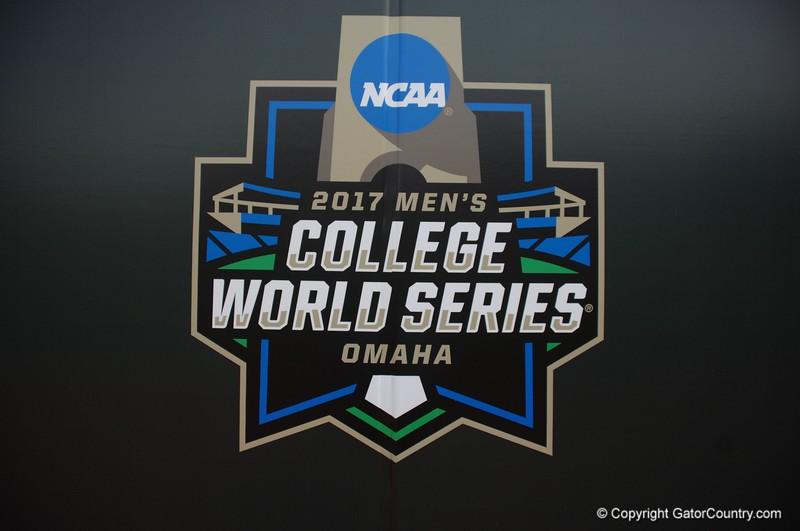 The 2017 College World Series logo.