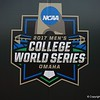 The 2017 College World Series logo.