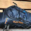 Florida Gators pitcher Brady Singer's glove.