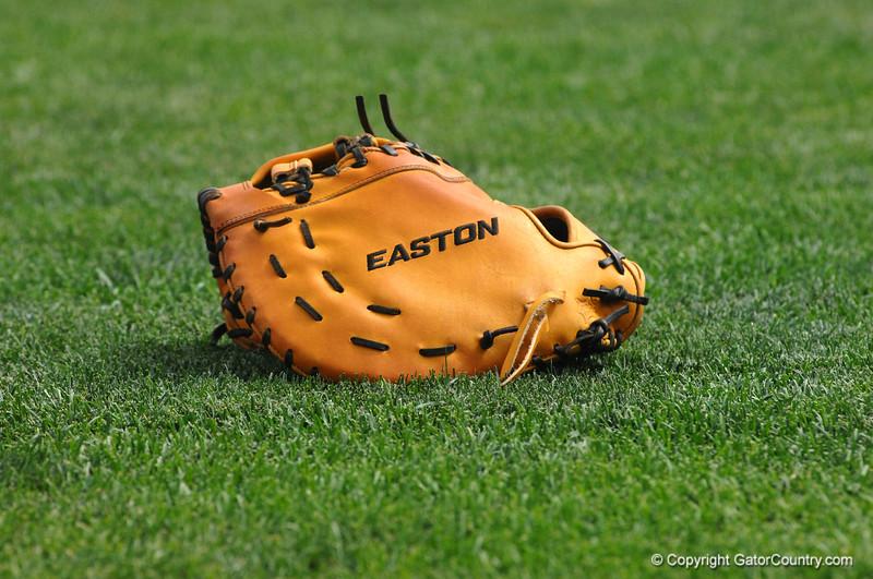 Keenan Bell's glove.