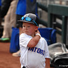 Finn O'Sullivan enjoying practice at the College World Series