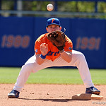 University of Florida Gators infielder Deacon Liput during pre-game as the Gators sweep the series over the University of Miami Hurricanes with a 6-2 win at McKethan Stadium. February 26th, 2017. Gator Country photo by David Bowie.