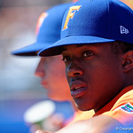 University of Florida Gators pitcher Andrew Baker during pre-game as the Gators sweep the series over the University of Miami Hurricanes with a 6-2 win at McKethan Stadium. February 26th, 2017. Gator Country photo by David Bowie.
